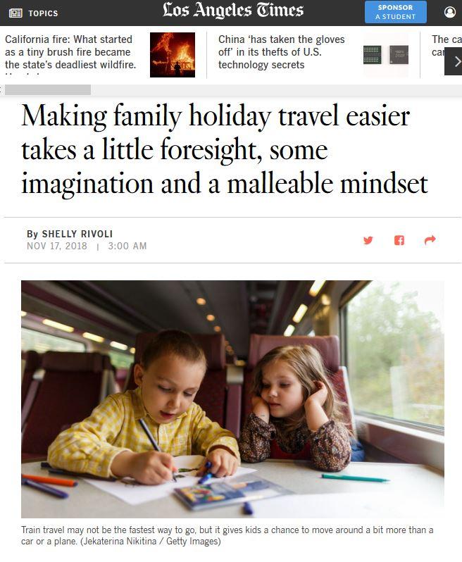 family holiday travel tips by Shelly Rivoli