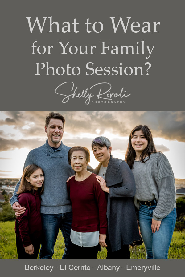tips examples what to wear for family photos in East Bay