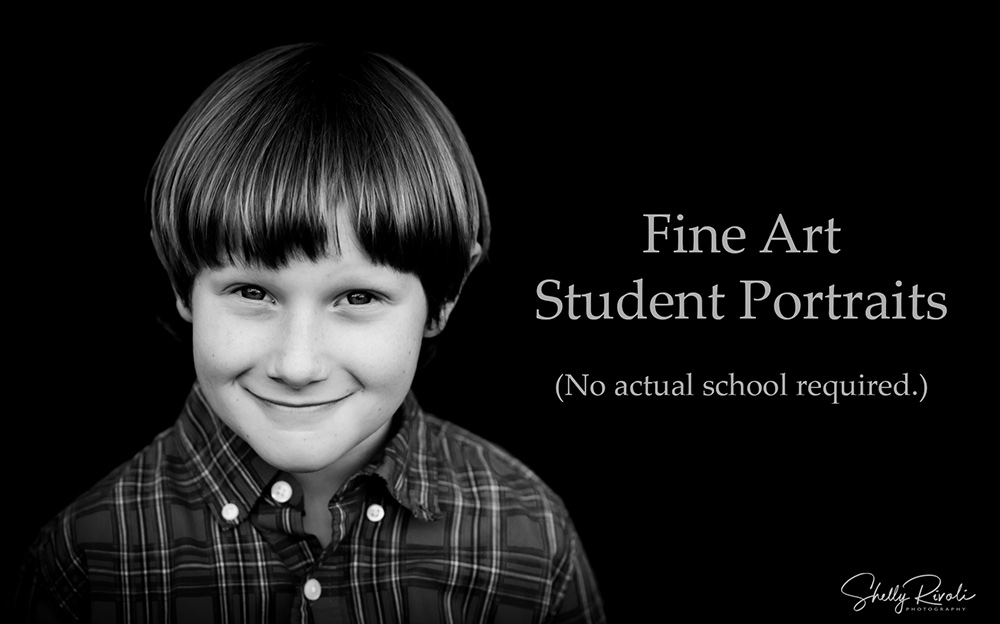 fine art student portraits without school