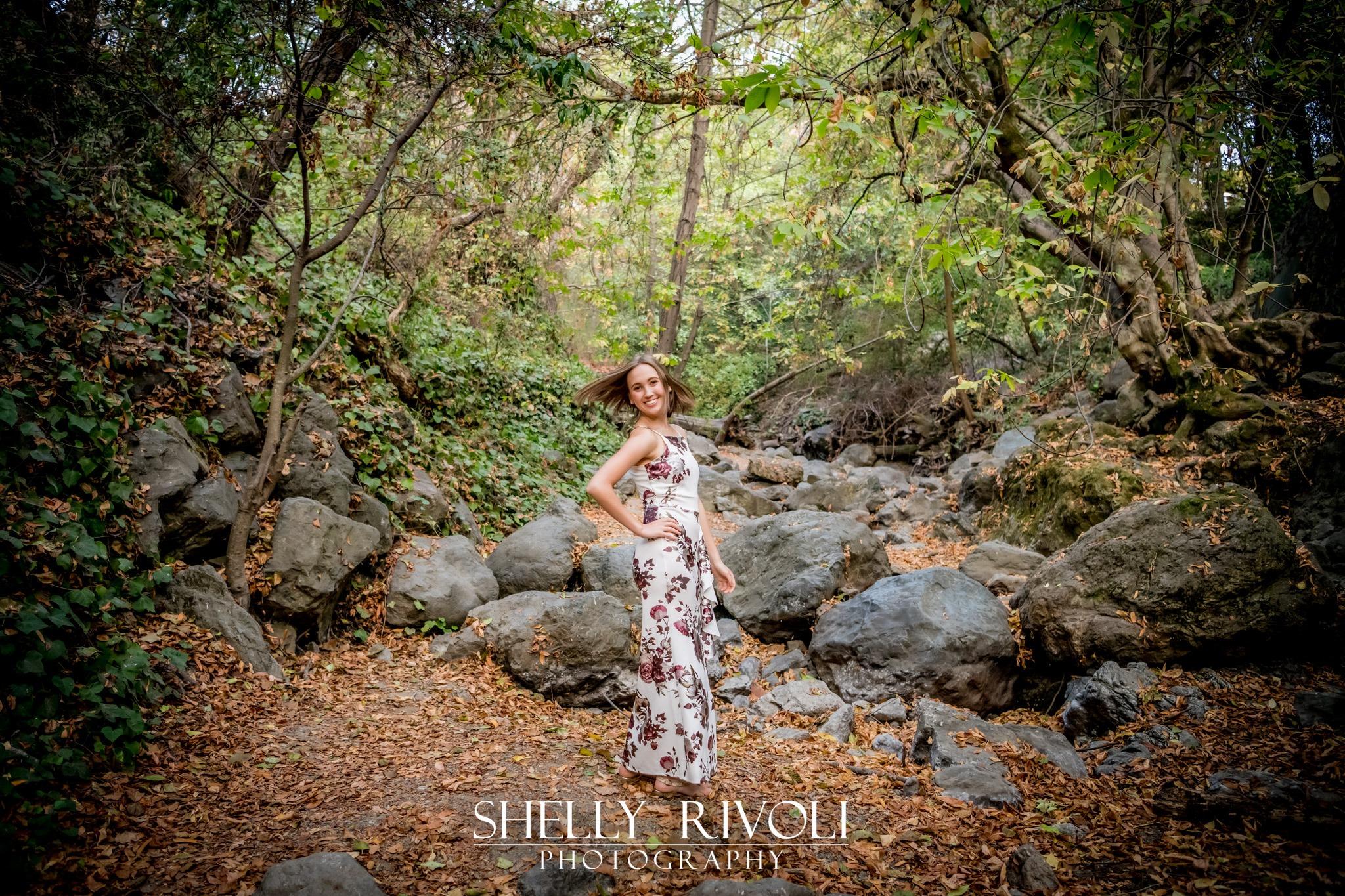 girl senior portrait in san francisco bay area
