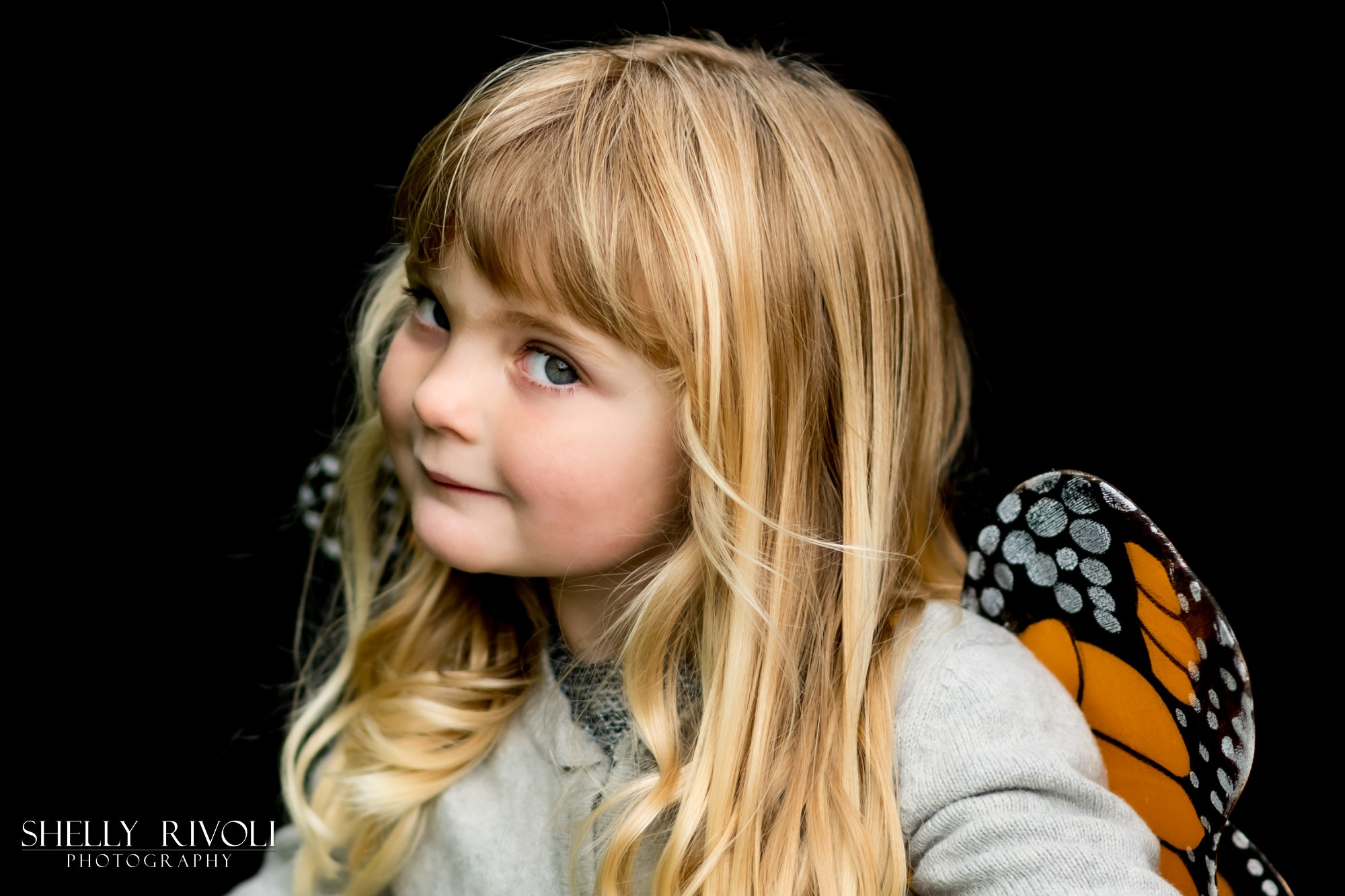 beautiful child portrait in the east bay